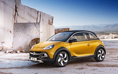 2015 Vauxhall Adam Rocks wallpaper thumbnail.