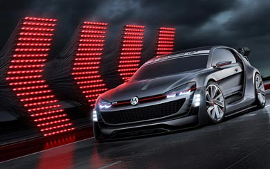 2015 Volkswagen GTI Supersport Vision Gran Turismo Concept wallpaper thumbnail.
