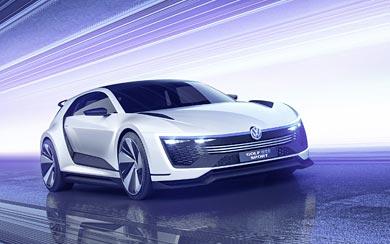 2015 Volkswagen Golf GTE Sport Concept wallpaper thumbnail.