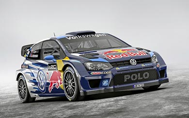 2015 Volkswagen Polo R WRC wallpaper thumbnail.