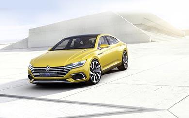 2015 Volkswagen Sport Coupe GTE Concept wallpaper thumbnail.