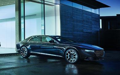 2016 Aston Martin Lagonda wallpaper thumbnail.