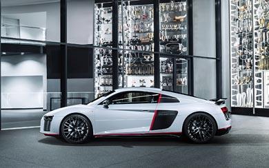 2016 Audi R8 V10 Plus 'selection 24h' wallpaper thumbnail.
