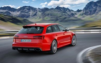 2016 Audi RS6 Avant Performance wallpaper thumbnail.
