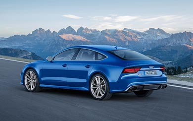 2016 Audi RS7 Sportback Performance wallpaper thumbnail.