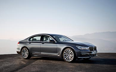 2016 BMW 7-Series wallpaper thumbnail.