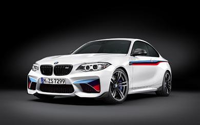 2016 BMW M2 Coupe M Performance Parts wallpaper thumbnail.