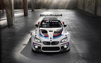 2016 BMW M6 GT3 wallpaper thumbnail.