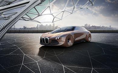 2016 BMW Vision Next 100 Concept wallpaper thumbnail.