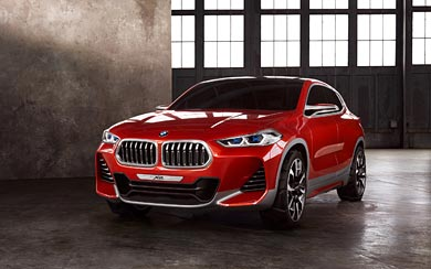 2016 BMW X2 Concept wallpaper thumbnail.
