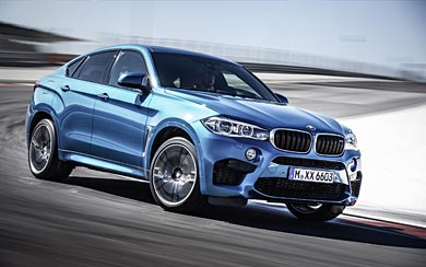 2016 BMW X6 M wallpaper thumbnail.
