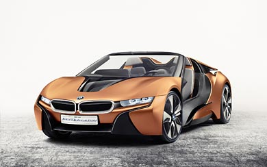 2016 BMW i Vision Future Interaction Concept wallpaper thumbnail.