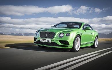 2016 Bentley Continental GT Speed wallpaper thumbnail.