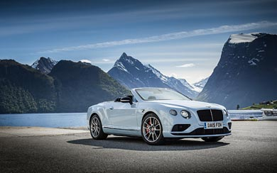 2017 Bentley Continental GT Speed Black Edition wallpaper thumbnail.