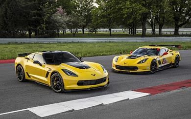 2016 Chevrolet Corvette Z06 C7.R Edition wallpaper thumbnail.
