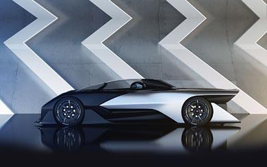 2016 Faraday Future FFZero1 Concept wallpaper thumbnail.