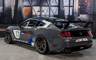 2016 Ford Mustang GT4 wallpaper thumbnail.