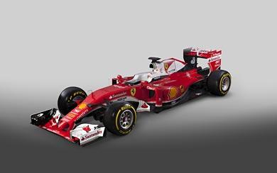 2016 Ferrari SF16-H wallpaper thumbnail.