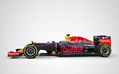 2016 Red Bull Racing RB12 wallpaper thumbnail.