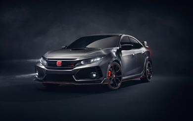 2016 Honda Civic Type R Concept wallpaper thumbnail.