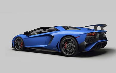 2016 Lamborghini Aventador LP750-4 SV Roadster wallpaper thumbnail.