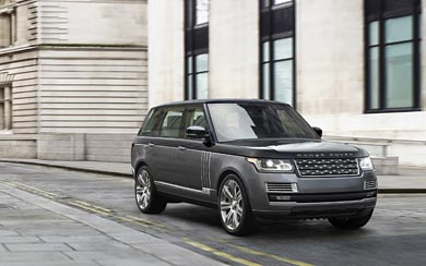 2016 Land Rover Range Rover SV Autobiography wallpaper thumbnail.