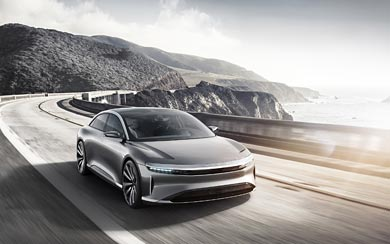 2016 Lucid Air Concept wallpaper thumbnail.