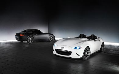 2016 Mazda MX-5 SEMA Concepts wallpaper thumbnail.