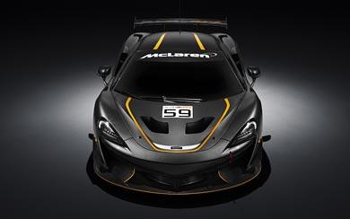 2016 McLaren 570S GT4 wallpaper thumbnail.
