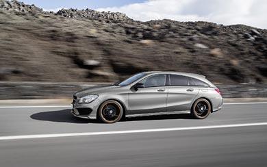 2016 Mercedes-Benz CLA Shooting Brake wallpaper thumbnail.