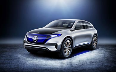 2016 Mercedes-Benz Generation EQ Concept wallpaper thumbnail.