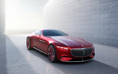 2016 Mercedes-Benz Vision Maybach 6 Concept wallpaper thumbnail.