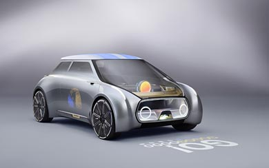 2016 Mini Vision Next 100 Concept wallpaper thumbnail.