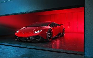 2016 Novitec Torado Lamborghini Huracan RWD wallpaper thumbnail.