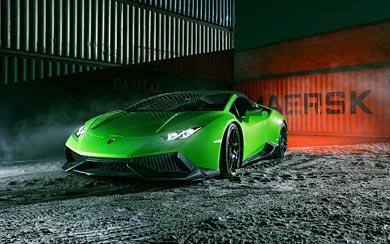 2016 Novitec Torado Lamborghini Huracan Spyder wallpaper thumbnail.