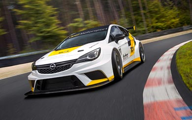2016 Opel Astra TCR wallpaper thumbnail.