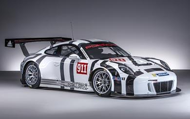 2016 Porsche 911 GT3 R wallpaper thumbnail.