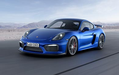 2016 Porsche Cayman GT4 wallpaper thumbnail.