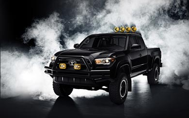2016 Toyota Tacoma 'Back to the Future' Concept wallpaper thumbnail.