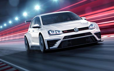 2016 Volkswagen Golf GTI TCR wallpaper thumbnail.