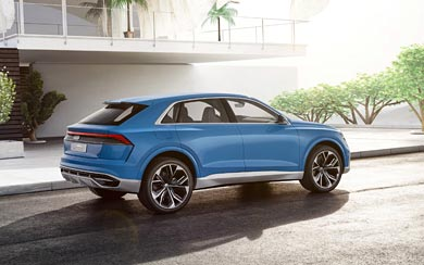 2017 Audi Q8 Concept wallpaper thumbnail.