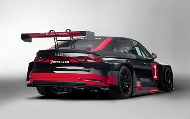 2017 Audi RS3 LMS wallpaper thumbnail.