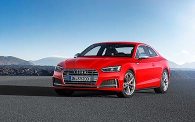 2017 Audi S5 Coupe wallpaper thumbnail.