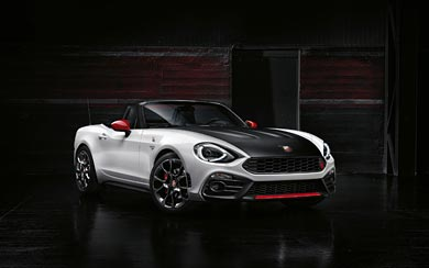 2017 Fiat 124 Spider Abarth wallpaper thumbnail.