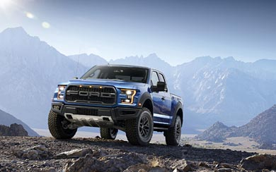 2017 Ford F-150 Raptor wallpaper thumbnail.