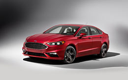 2017 Ford Fusion V6 Sport wallpaper thumbnail.