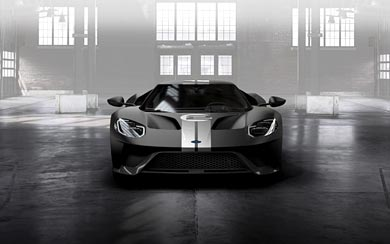 2017 Ford GT 66 Heritage Edition wallpaper thumbnail.