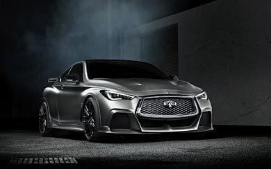 2017 Infiniti Q60 Project Black S Concept wallpaper thumbnail.