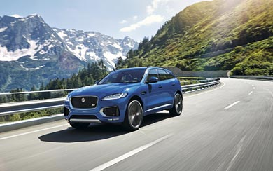2017 Jaguar F-Pace wallpaper thumbnail.