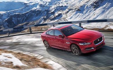 2017 Jaguar XE AWD wallpaper thumbnail.